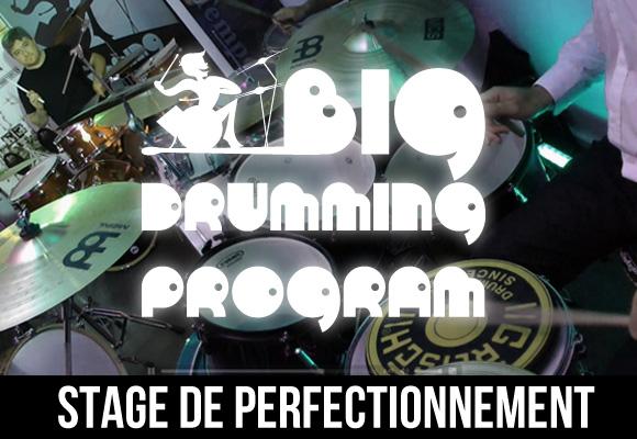 Big Drumming Program - Stages de batterie