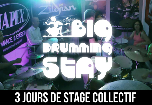 Big Drumming Stay Séjour de batterie