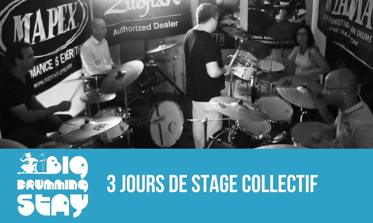Big Drumming Stage 3 jours